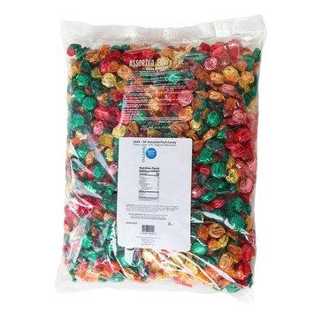 GoLightly Sugar Free Bulk Hard Candy | Cherry, Lime, Lemon, Tangerine, Watermelon | 5 Pound Bag of Bulk Candy [Assorted Fruit]