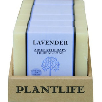 Value 6 Pack- Lavender 100% Pure & Natural Aromatherapy Herbal Soap- 4 oz each