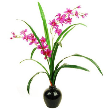 Lcgflorals Orchid Spray in a Distressed Vase