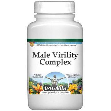 Male Virility Complex Powder - Muira Puama, Schizandra, Siberian Ginseng, Ginkgo Biloba (4 oz, ZIN: 511972)