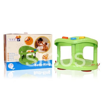 Baby Bath Tub Ring Seat New in Box By Keter - Blue or Green or Pink - best seller (Green)