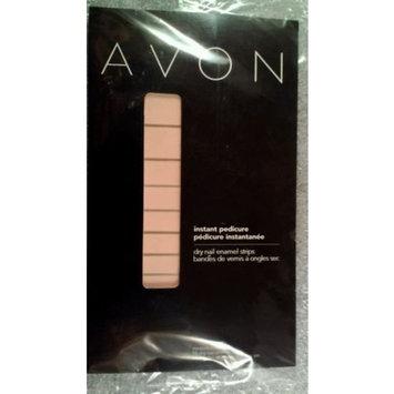 Avon Instant Manicure Dry Nail Enamel Strips Peony