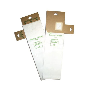 Green Klean Replacement Vacuum Bags for Eureka LS, Sanitaire SC5713, 5700-5739 and 5800-5839 series uprights; Powerflite PF82HF