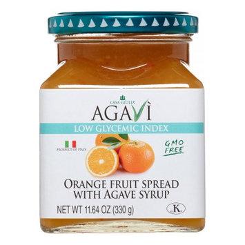Agavi Low Glycemic Index Fruit Spread, Orange, 11.64 Oz
