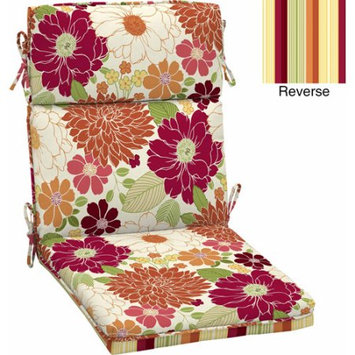 Better Homes and Gardens Outdoor Dining Chair Cushion, Sorbet Floral