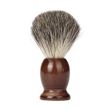 FTXJ Men Classic Wood Handle Shaving Brush Soft Badger Hair Barber Tool