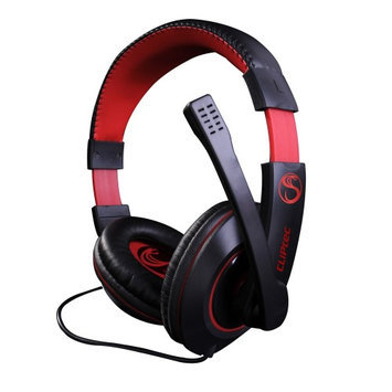 Cliptec Stereo Multimedia 3.5mm Wired Gaming Headset Over Ear Headphone Noise Isolating w/Microphone