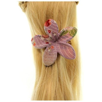 Annie Loto Sudios Jewelry Lavender Frangipani Flower Clip Fashion Hair Accessory, 1.50 in. - 388A