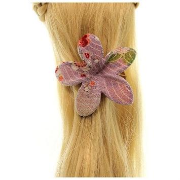 Annie Loto Sudios Jewelry Lavender Frangipani Flower Clip Fashion Hair Accessory, 1.50 in. - 388A