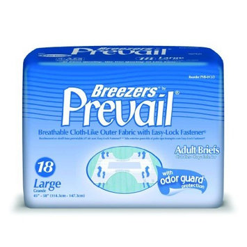 Breezers By Prevail Adult Briefs Medium /Case of 96 [96]