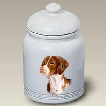 Best Of Breed Brittany Spaniel - Tamara Burnett Treat Jars