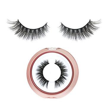 BEPHOLAN False Lashes Mink Fur Fake Eyelashes Reusable Handmade Fake Eyelashes Natural Look Fake Eyelashes Easy to Apply(XMZ12)