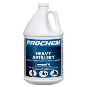 Prochem - Heavy Artillery - High pH Cleaning Power for Heavy Carpet Soils - Commercial Carpet Prespray Solution - Concentrate - 1 Gallon - S738 by Karcher
