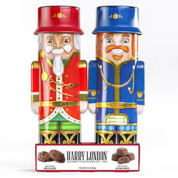 Harry London Holiday Nutcracker Tins, 2 pk./12 oz.
