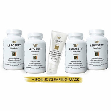 ClearPoint® All Natural Clear Skin Acne Supplement | 4 Pack