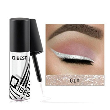 Clearance Sale! Glitter Liquid Eyeliner Waterproof for Girls Womens Teens, Iuhan Metallic Shiny Smoky Eyes Beauty Eyeshadow Waterproof Glitter Liquid Eyeliner