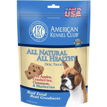Cherrybrook AKC All Natural Health Treats 12oz Apple Cranberries Cinnamon Blueberries
