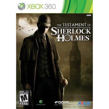 Atlus Usa 90017 Testament Of Sherlock Holmes
