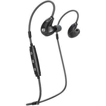 Meelectronics MEE audio X7 Plus Stereo Bluetooth Wireless Sports In-Ear HD Headphones with Memory Wire and Headset Functionality