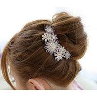 Hair Clip NYKKOLA Beautiful Jewelry Flowers Crystal Hair Clips - for Hair Clip Beauty Tools