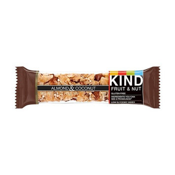 KIND Bars, Almond & Coconut, Gluten Free, 1.4 oz (Almond & Coconut, 24 Bars)