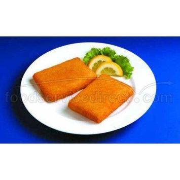 SeaCrisp Breaded Rectangle Cod, 3 Ounce of 52-54 Pieces, 10 Pound - 1 each.