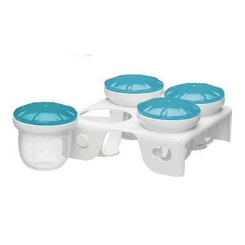 Munchkin Fresh Food Freezer Cups, Colors May Vary (Pack of 2)