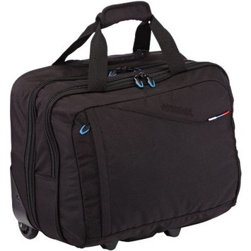 American Tourister Roller Case AT Business III Rolling Tote 17-inch, 43.2 cm Cabin Size/30 Liters, Black 46868/1041