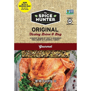 Spice Hunter Turkey Brine & Bag, Original, 11 Ounce [Original]