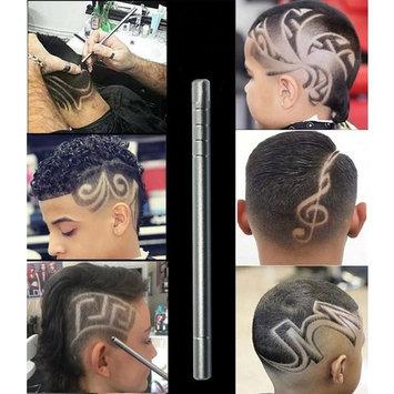 Jewby 1 Set DIY Hair Styling Eyebrows Beards Pen Stainless Steel Razor Salon Engraved Pen & 10 Blades