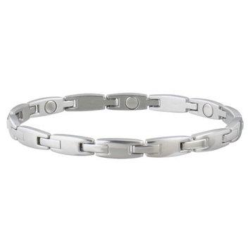 Sabona Ladies Magnetic Link Bracelet Stainless Small/Medium-1 Each