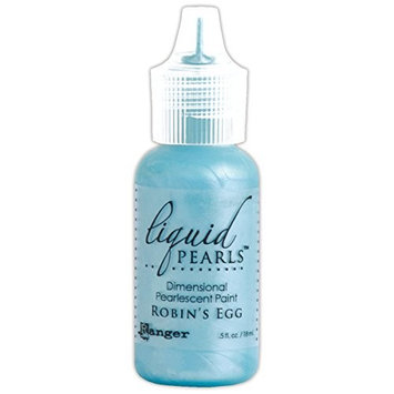 Ranger LPL-47537 Liquid Pearls Glue, 0.5 oz, Robin's Egg