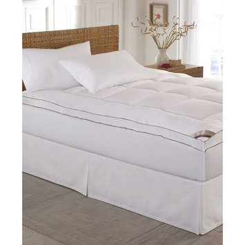 Kathy Ireland Home Gallery 100% Cotton-Top 2 Inch Gusseted King Mattress Pad