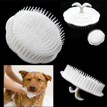 Atb Pet Hair Shampoo Scalp Body Massage Cleanning Brush Dog Cat Massager Comb Groom