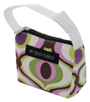 Ah Goo Baby Pacifier Holder and Tote, Spa Pattern PT-SPA-12
