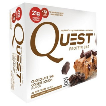Quest Nutrition® Protein Bar - Chocolate Chip Cookie Dough - 4ct
