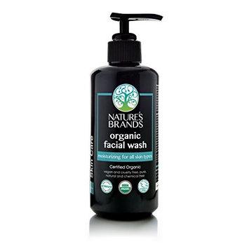 Herbal Choice Mari Organic Facial Wash, Moisturizing for All Skin Types; 6.8floz