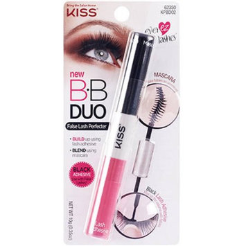 Kiss Ever EZ Lashes BB Duo Black Mascara & Lash Adhesive, .35 oz