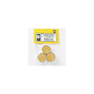 Uco Beeswax Tealight Candles - Package of 3