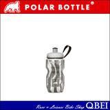 Polar Bottles Polar Bottle Sport Insulated 12 oz Water Bottle - Zebra