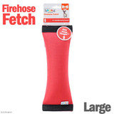 Outward Hound FireHose Squeak N' Fetch Dog Toys Squeak and Fetch Toy, Red
