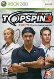 Take 2 Interactive Top Spin 3 Xbox 360 Game 2K SPORTS