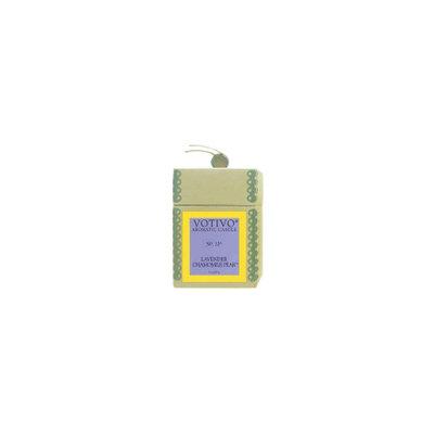VOTIVO Aromatic candle in glass Lavender Chamomile Pear
