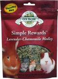 Oxbow Animal Health Oxbow Simple Rewards Treats - Lavender/Chamomile - 2.5 oz.