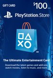 Interactive Comm Consign Sony - $100 Playstation Network Card