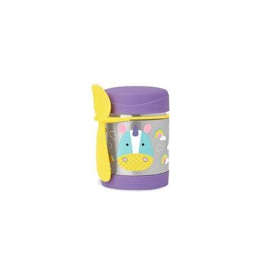 Skip Hop Zoo 11-ounce Insulated Food Jar, Ovrfl Oth
