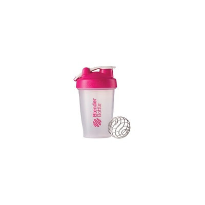 BlenderBottle 20 oz Classic with Loop Clear-Pink 1 Cup