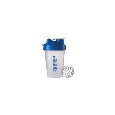 BlenderBottle 20 oz Classic with Loop Clear-Blue 1 Cup