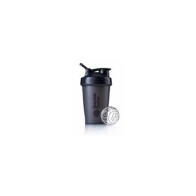 Blender Bottle Classic 20 oz. Shaker with Loop Top - Black/Black