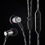 V-MODA Forza Metallo In-Ear Headphones w/ Remote & Microphone - Android, Gunmetal Black